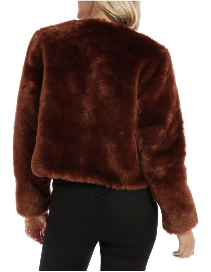 Jacket Fur Crop image 3