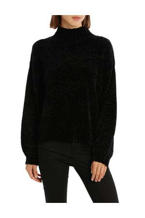 Piper - Jumper Chenille Roll Neck And Full Sleeve