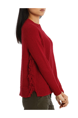 Piper - Sweater With Fringing