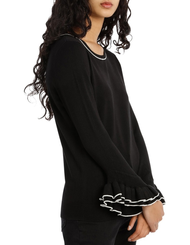 Sweater 3/4 Sleeve With Frill image 2