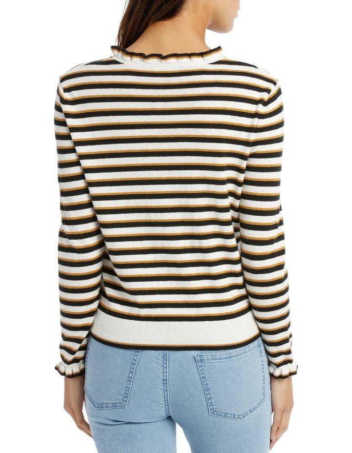 Ruffle Sleeve Sweater 3/4 Sleeve image 3