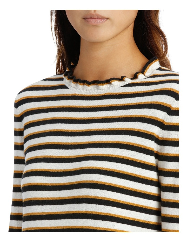 Ruffle Sleeve Sweater 3/4 Sleeve image 4