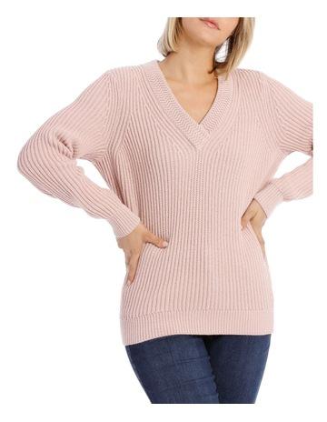 d660c164 PiperVee Neck Sweater Rib with Fancy Stitch Neckline. Piper Vee Neck Sweater  Rib with Fancy Stitch Neckline