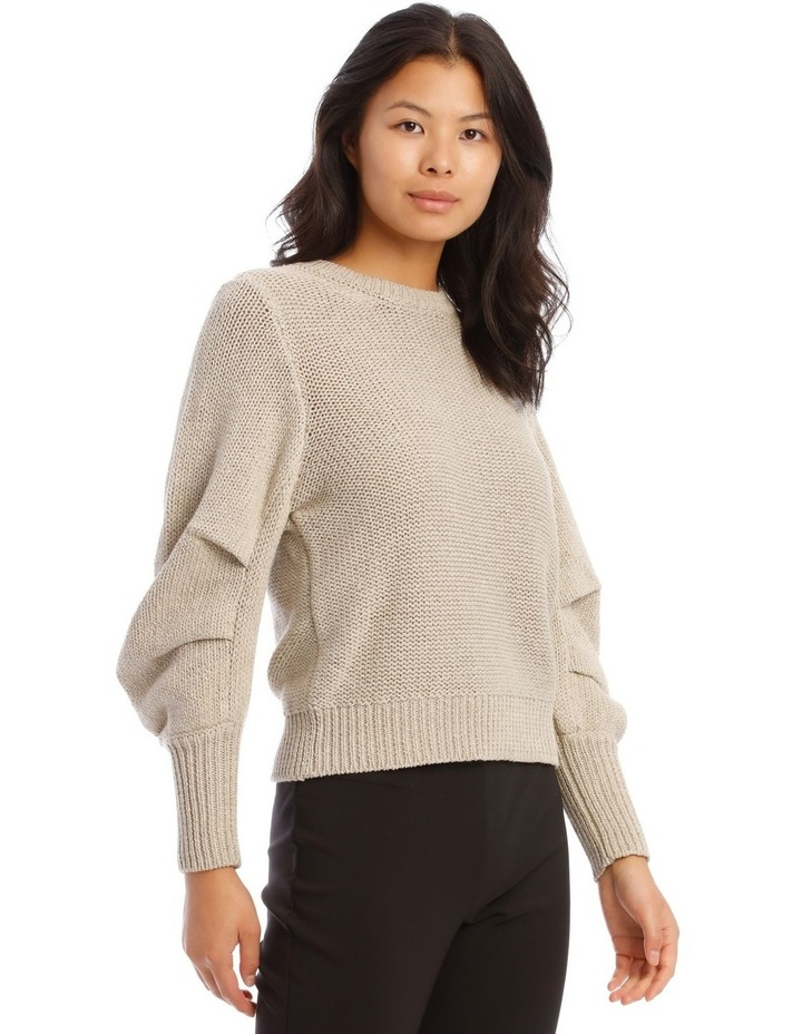 Rouched Rib Trim Jumper image 2