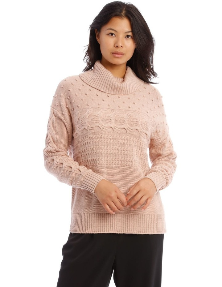 Roll Neck Bobble Sweater image 1