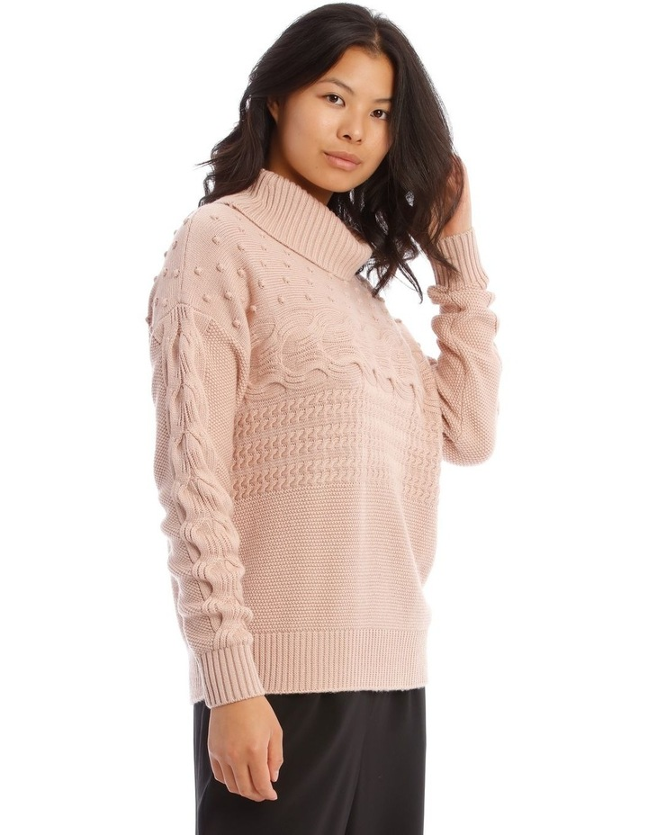 Roll Neck Bobble Sweater image 2