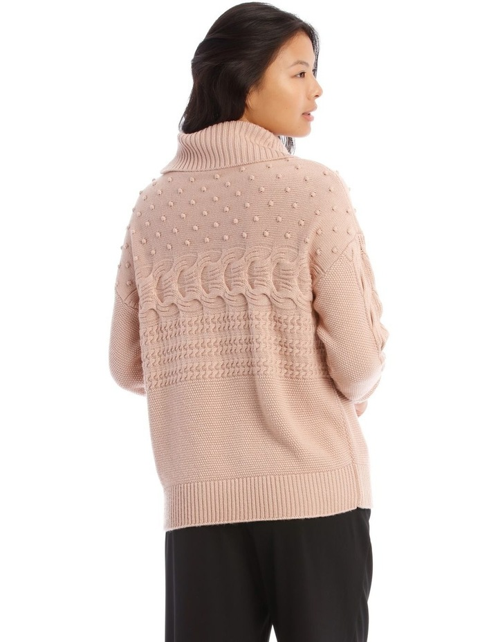 Roll Neck Bobble Sweater image 3