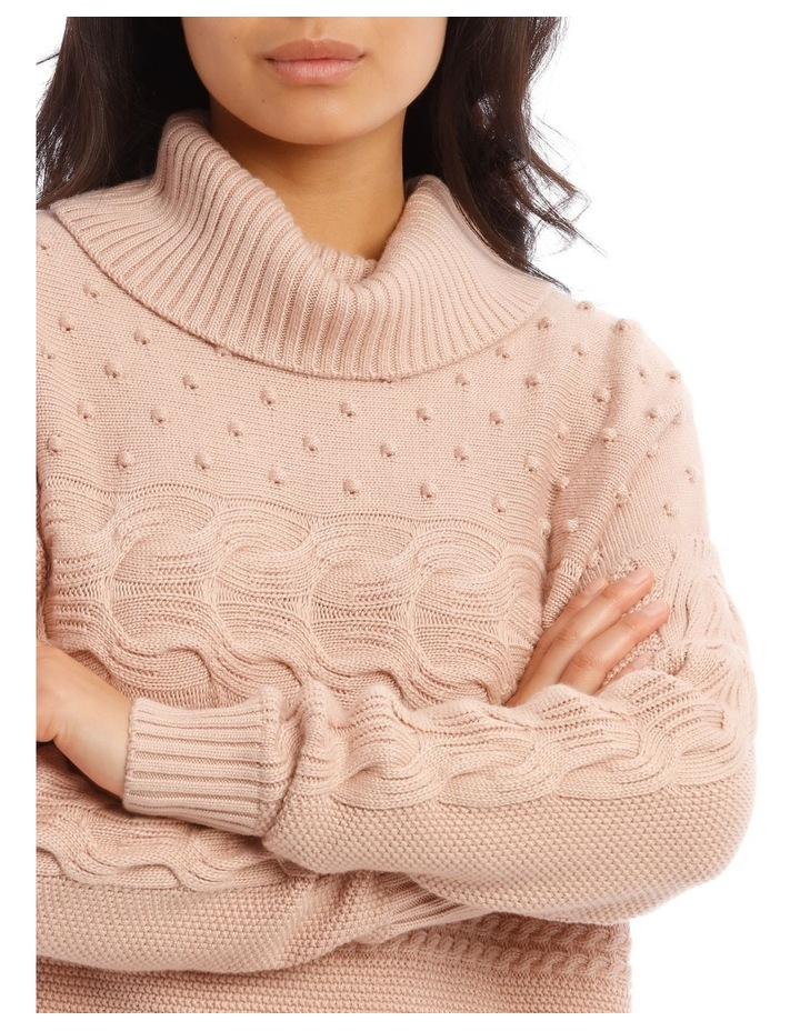 Roll Neck Bobble Sweater image 4