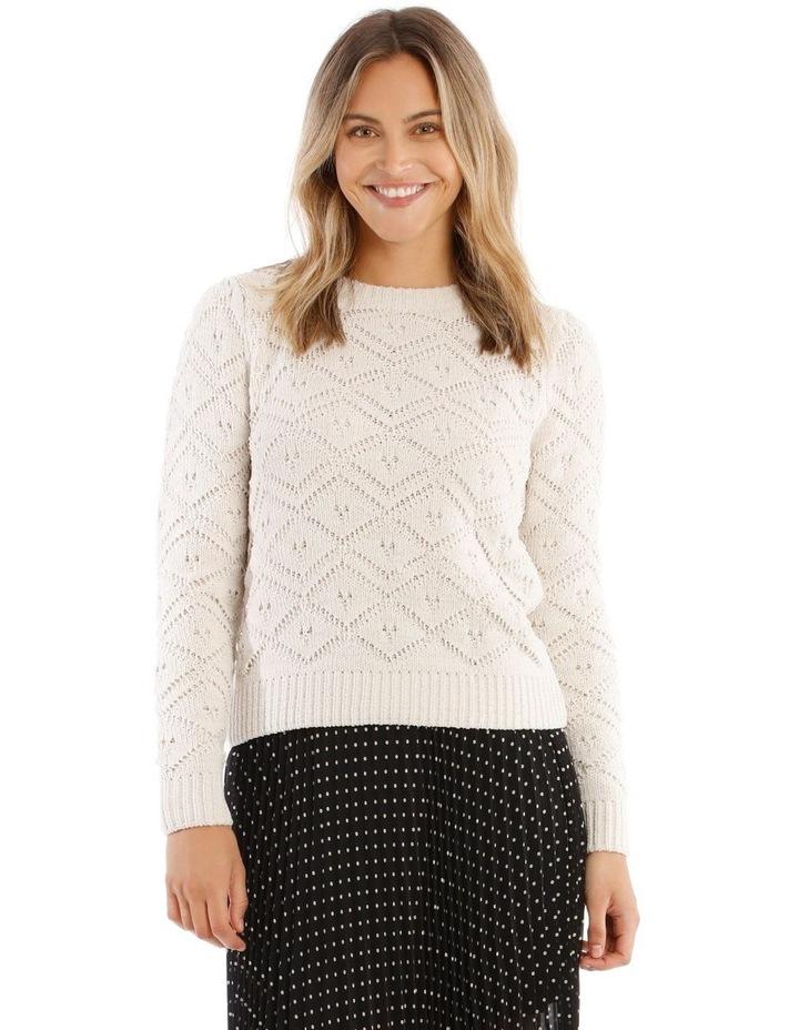 Jacquard Sweater Cheneille image 1