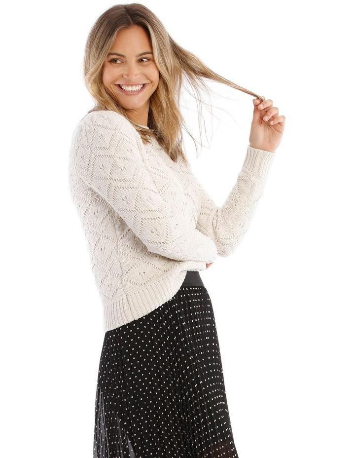 Jacquard Sweater Cheneille image 2