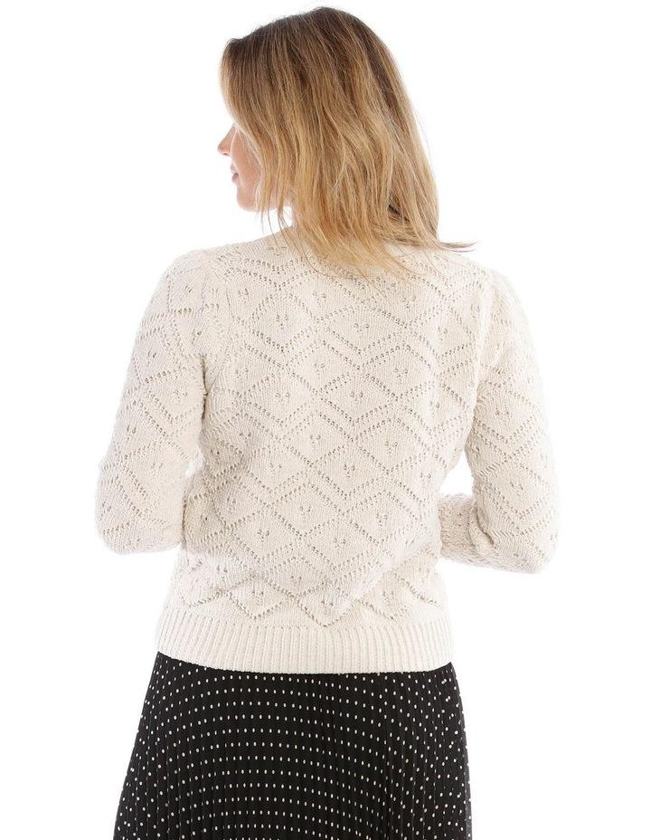 Jacquard Sweater Cheneille image 3