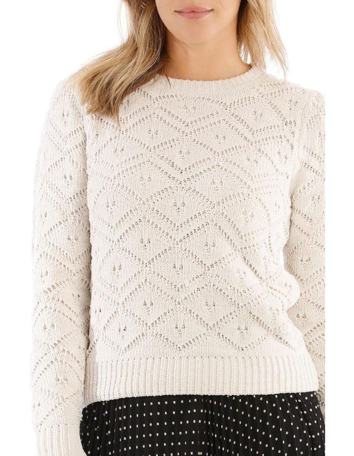 Jacquard Sweater Cheneille image 4