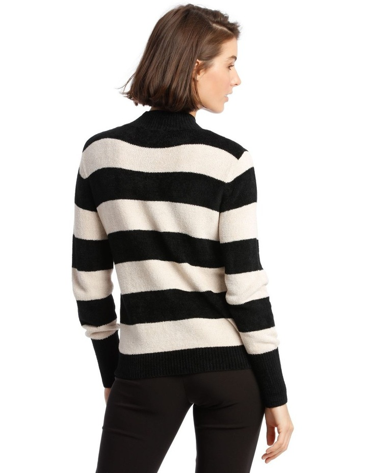 Fine Roll Neck Chenille Sweater image 3