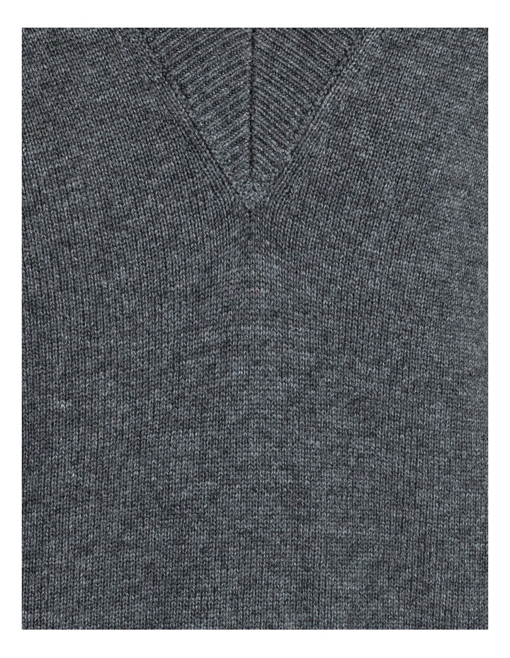 Vee Neck Puff Sleeve Knit image 7