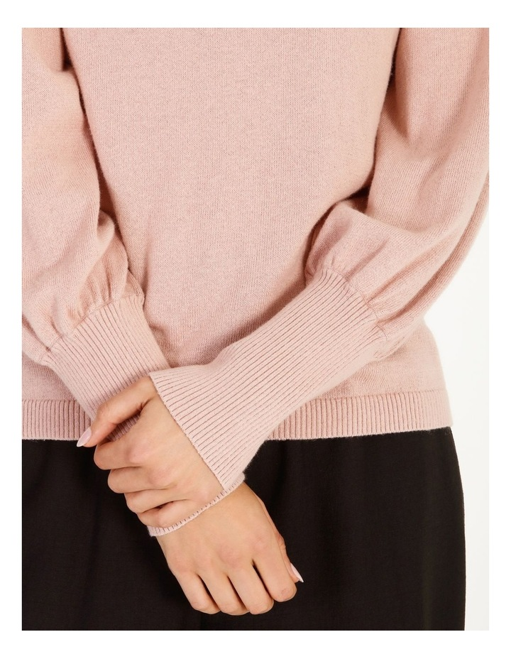 Fine Gauge Puff-Sleeve Sweater image 5