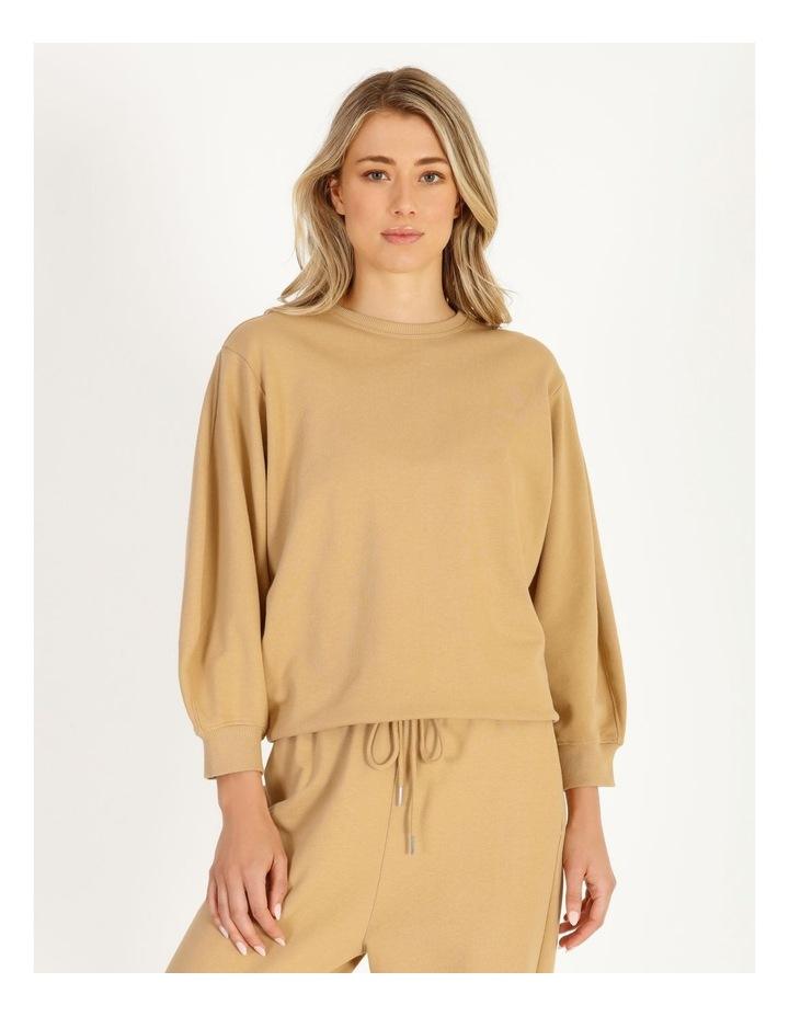 Organic Cotton Puff Sleeve Sweater image 1