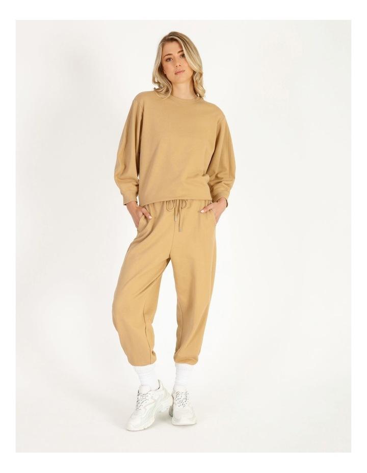 Organic Cotton Puff Sleeve Sweater image 2
