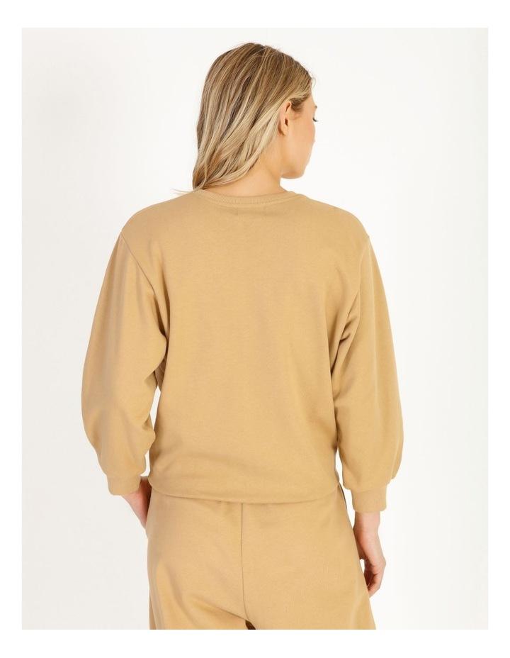 Organic Cotton Puff Sleeve Sweater image 3