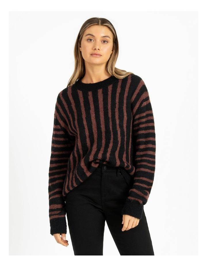 Vertical Stripe Knit image 2