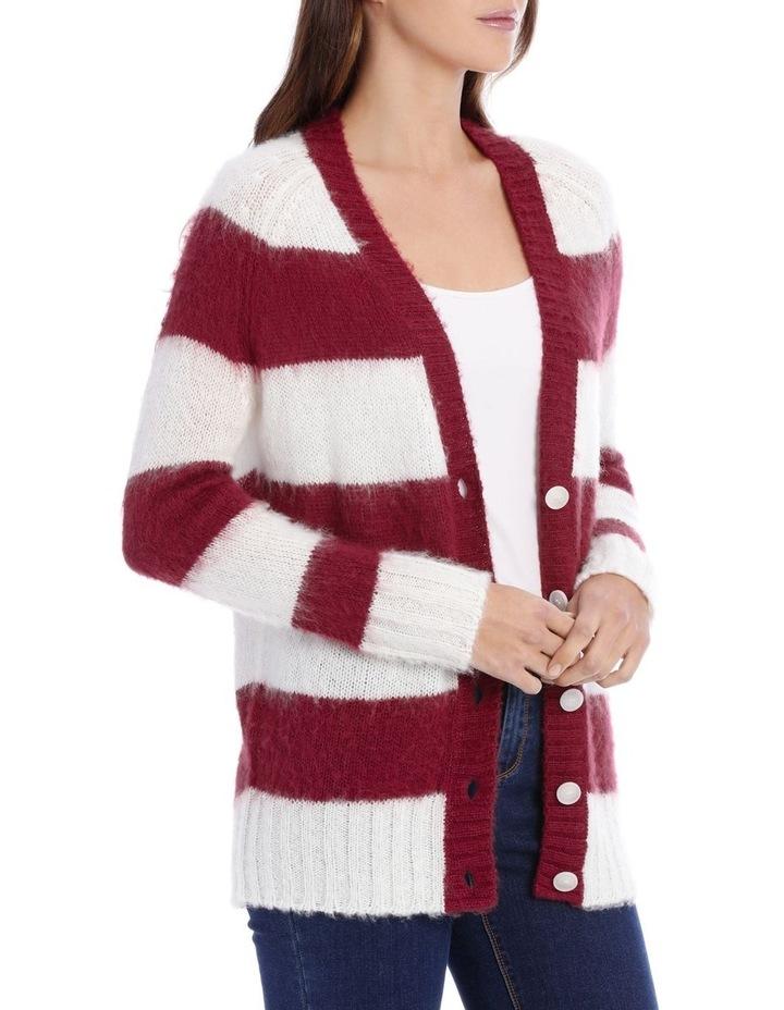 Cardigan Stripe Fluffy image 2