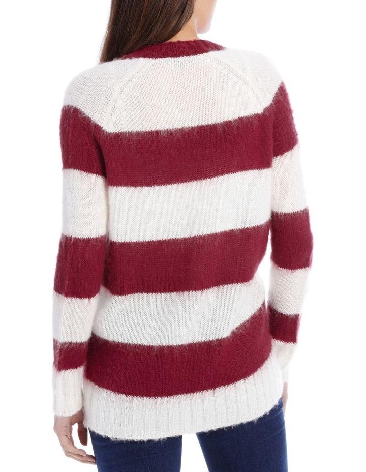 Cardigan Stripe Fluffy image 3