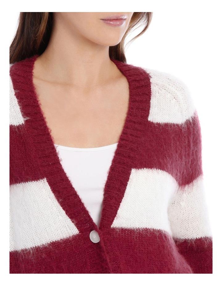 Cardigan Stripe Fluffy image 4