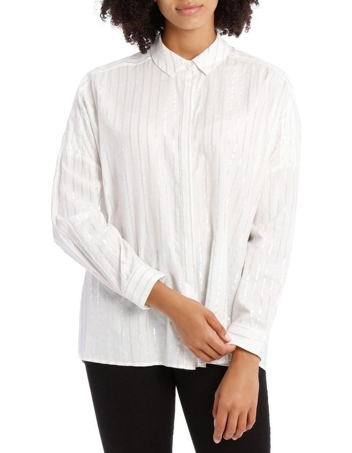 Textured Longline Shirt image 1