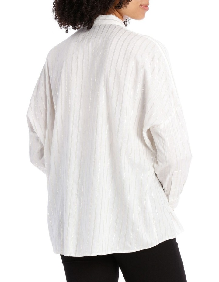 Textured Longline Shirt image 3