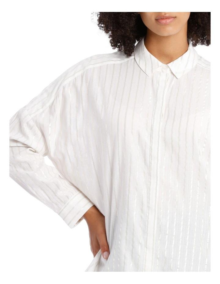 Textured Longline Shirt image 4