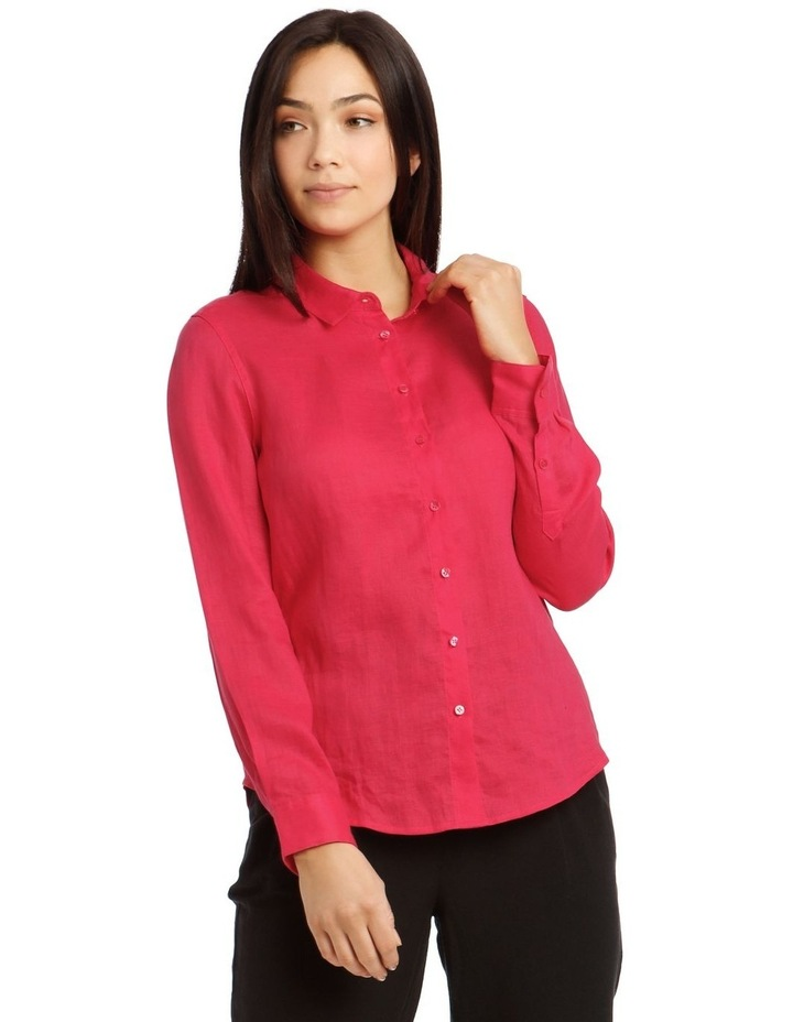 Long Sleeve Linen Shirt image 1