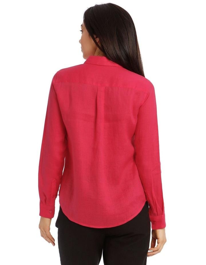 Long Sleeve Linen Shirt image 3