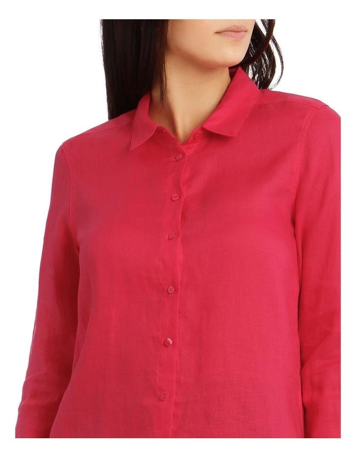 Long Sleeve Linen Shirt image 4