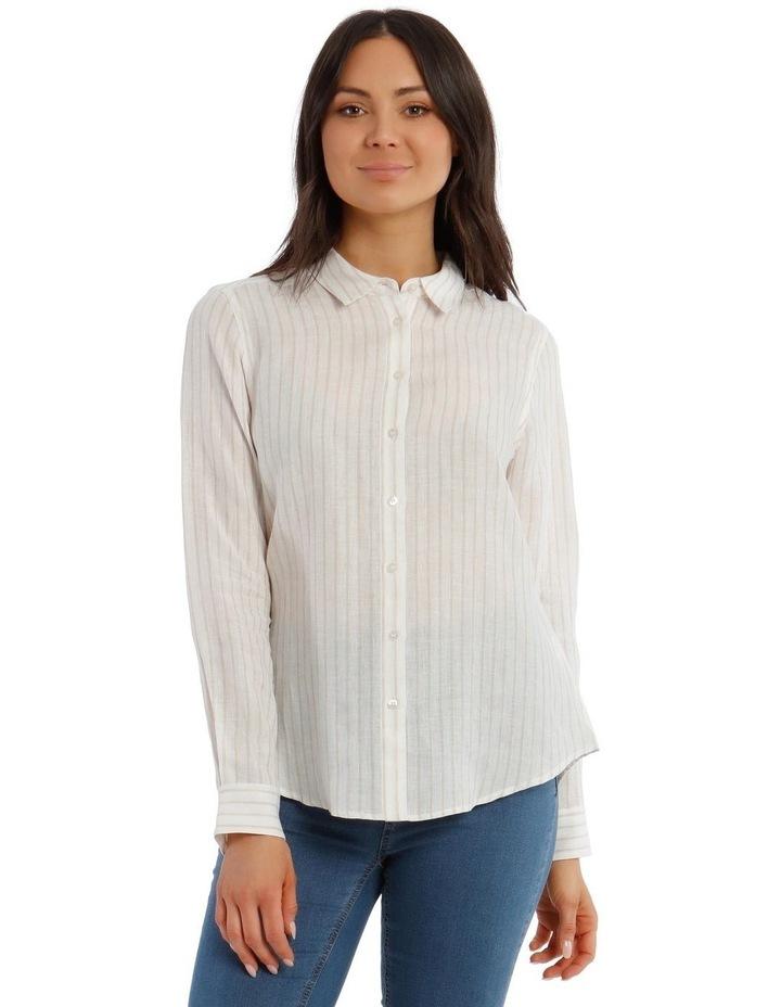 Linen Long Sleeve Shirt image 1
