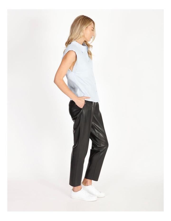 Organic Cotton Sleeveless Padded Shoulder Shirt image 3