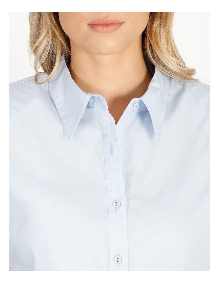 Organic Cotton Sleeveless Padded Shoulder Shirt image 5