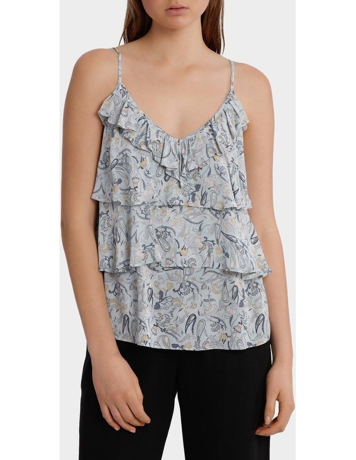 Cami with frills image 1