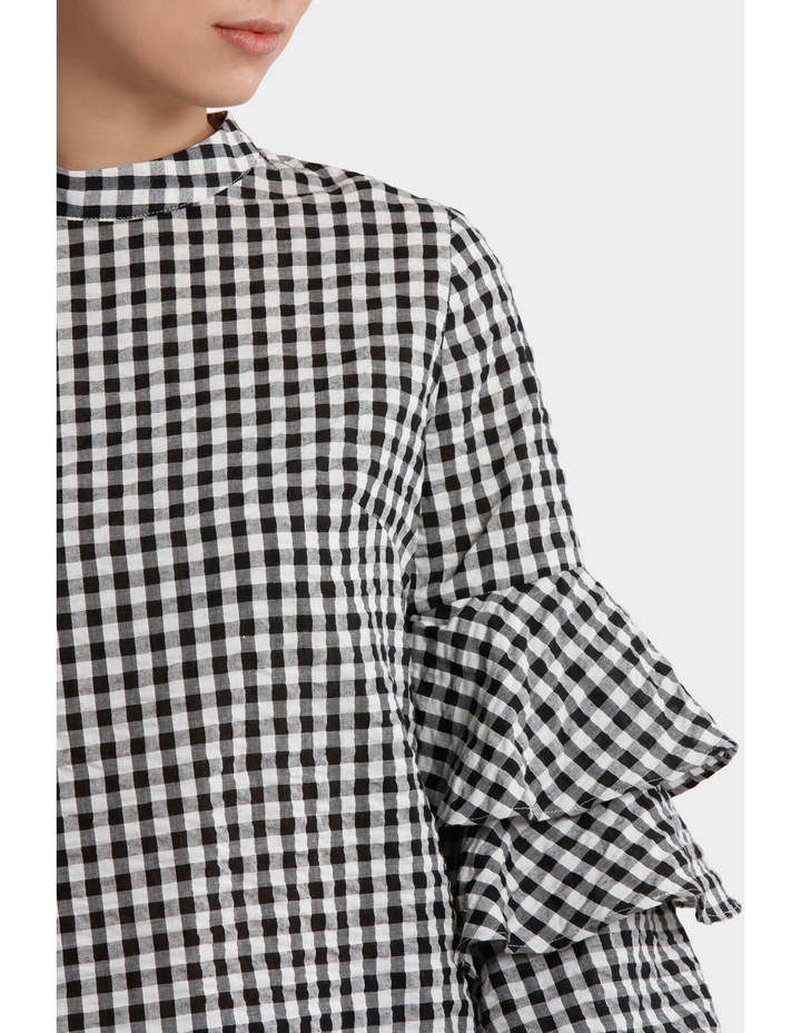 Top gingham image 4