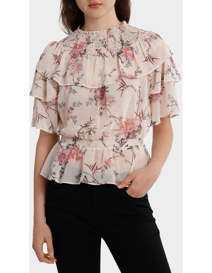 Top With Multi Layer Print image 1