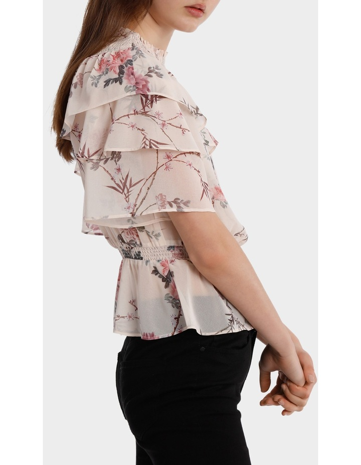 Top With Multi Layer Print image 2