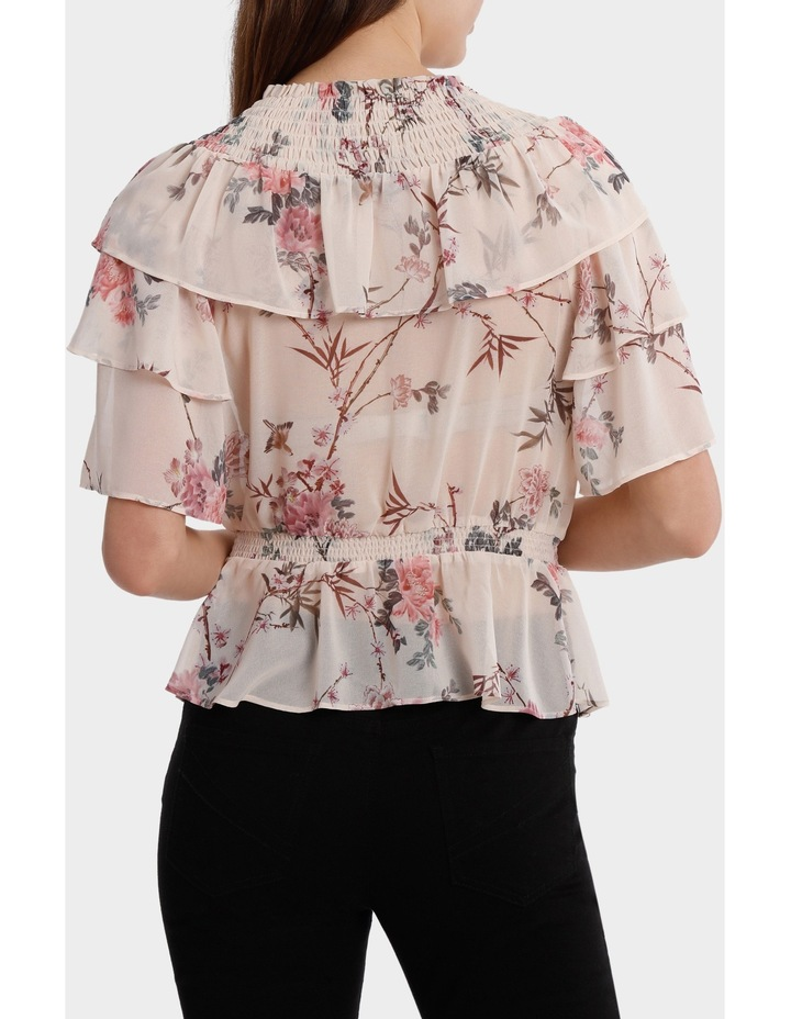 Top With Multi Layer Print image 3