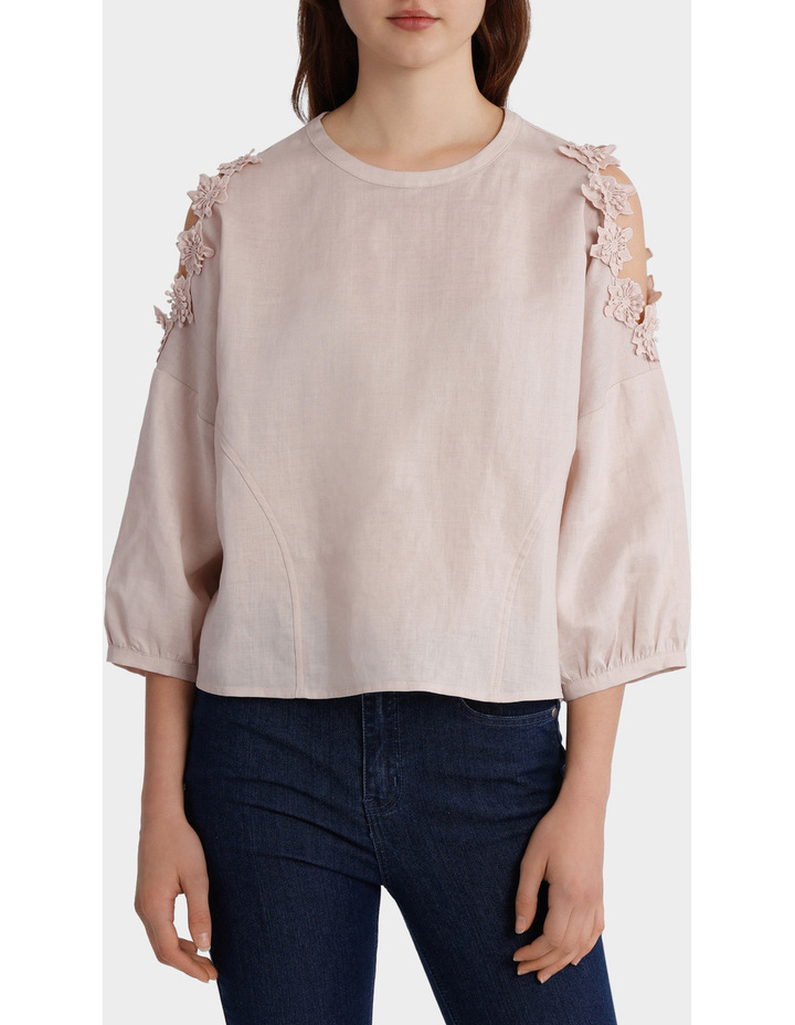Top with Sleeve Detail image 1