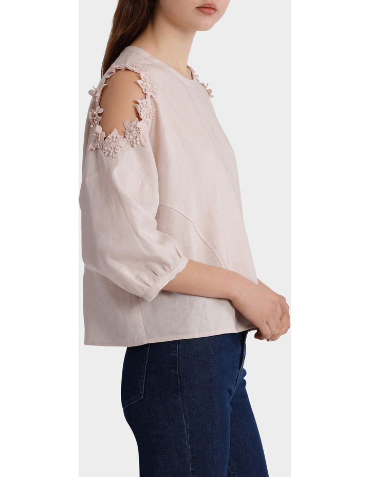 Top with Sleeve Detail image 2