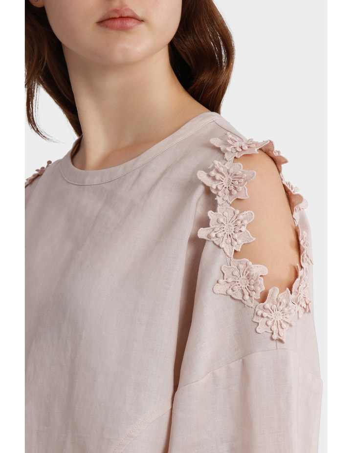 Top with Sleeve Detail image 4