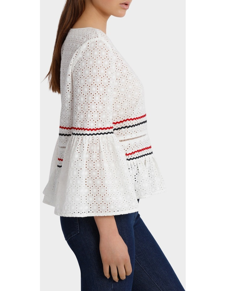 Top with Rik Rack Embroidery image 2