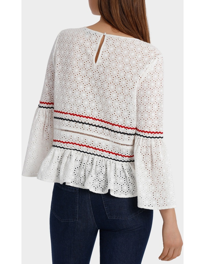 Top with Rik Rack Embroidery image 3