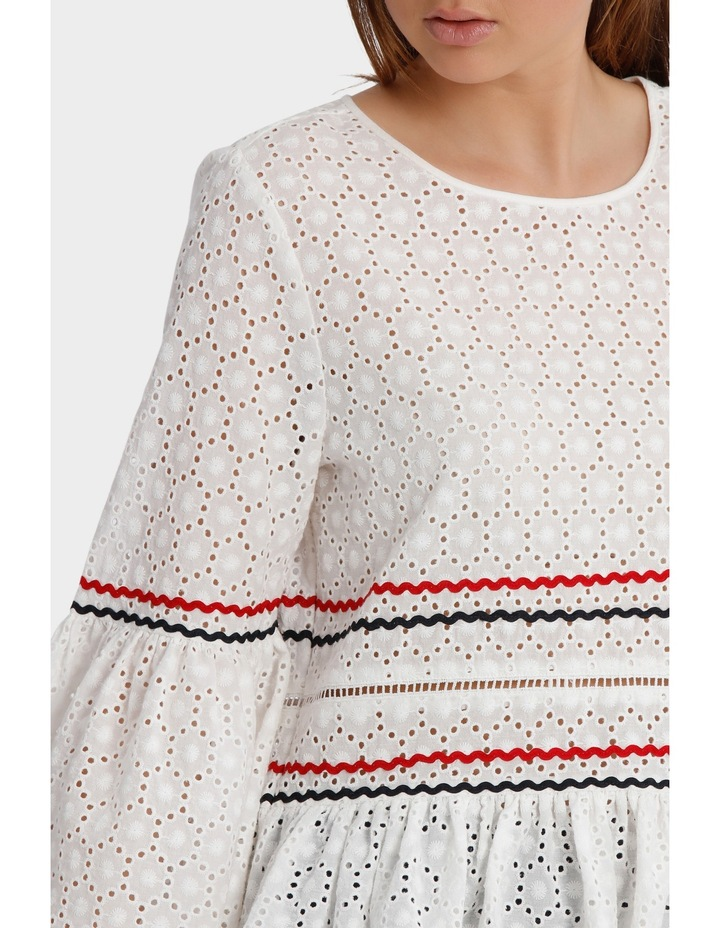 Top with Rik Rack Embroidery image 4