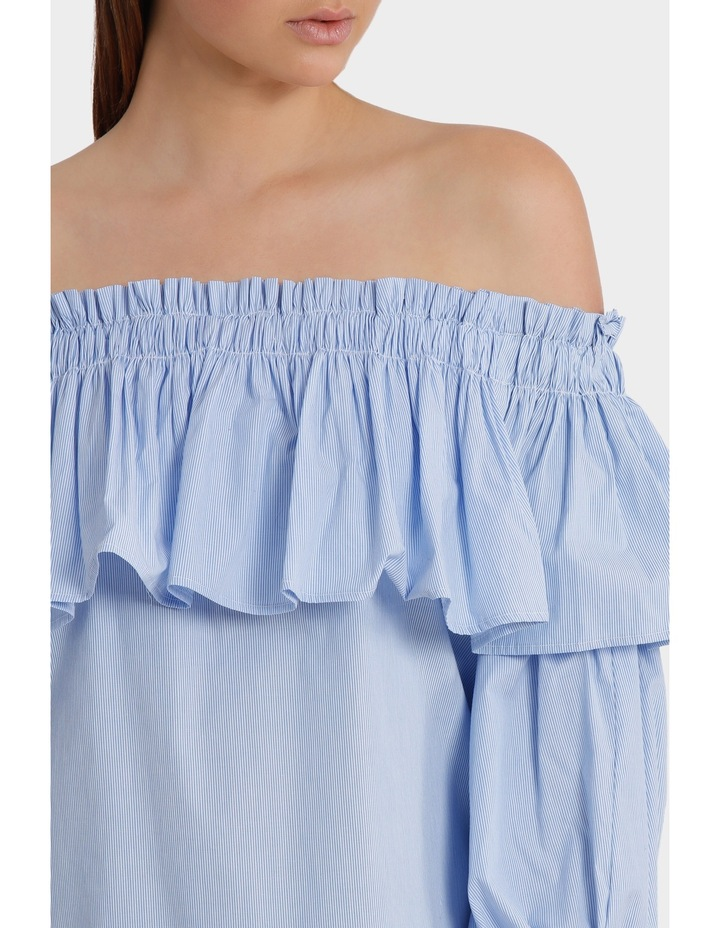 Off Shoulder Top with Full Sleeve image 4