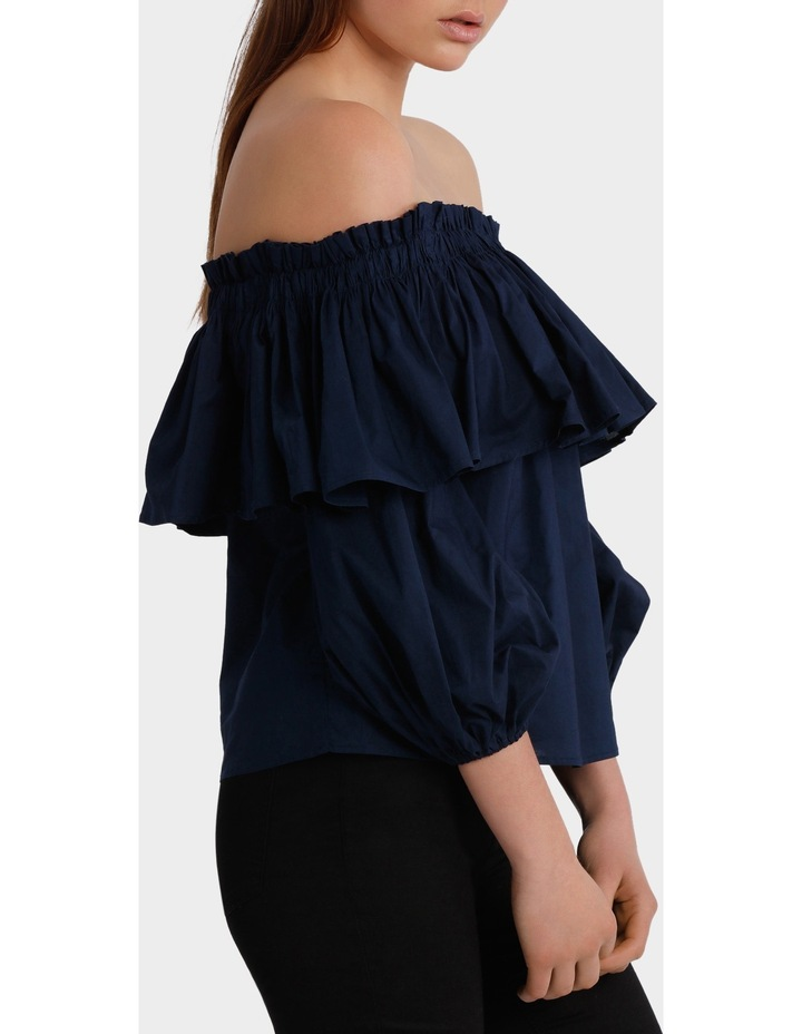 Off Shoulder Top with Full Sleeve image 2