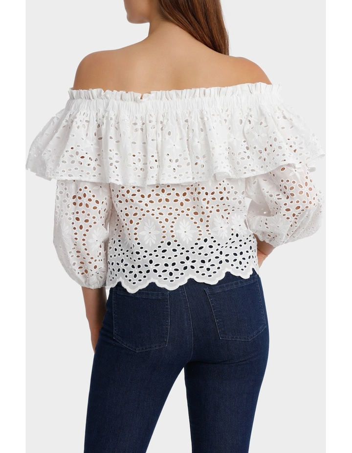Off Shoulder Top with Full Sleeve image 3