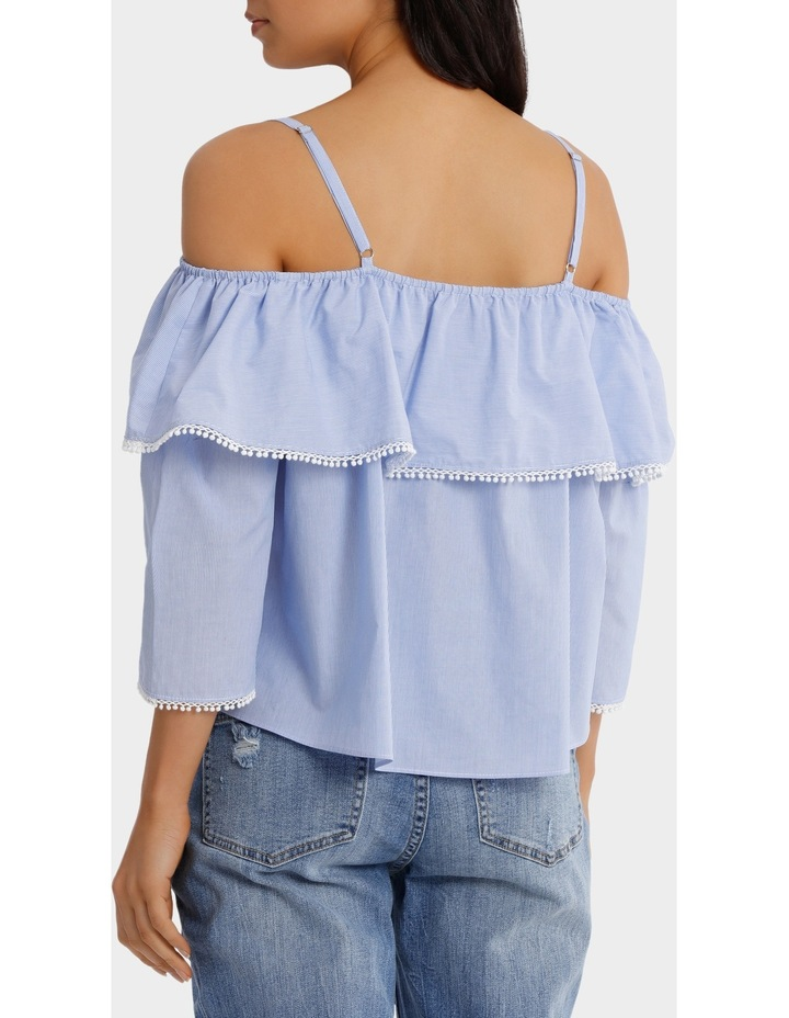 Top With Frill And Strap Details image 3